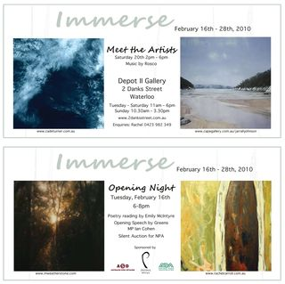 Immerse Official Invite 2010