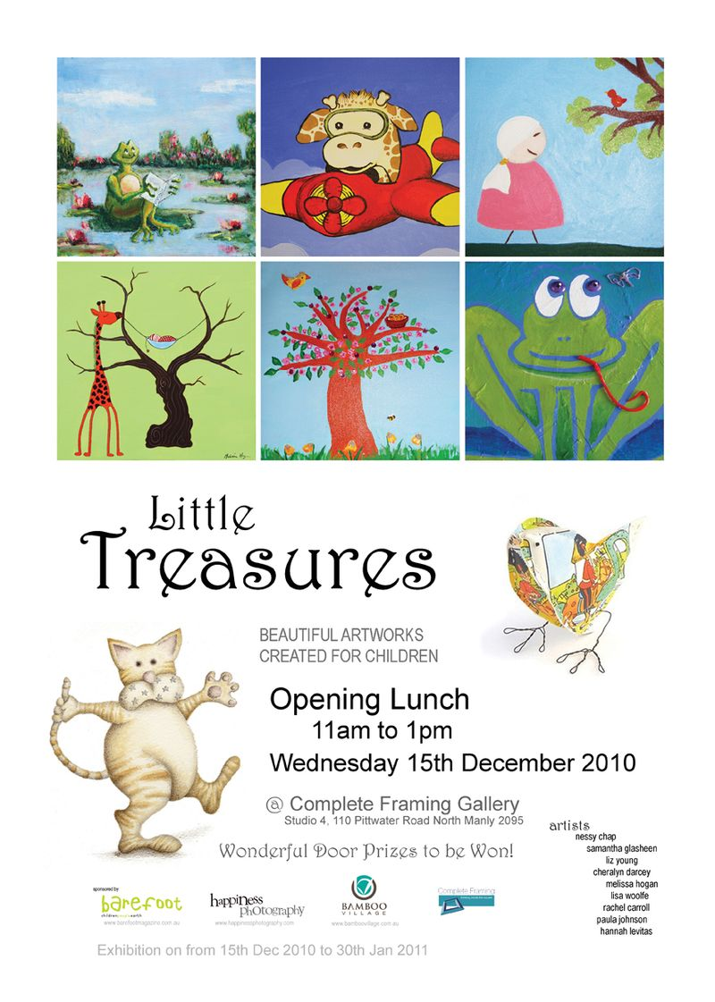 Little Treasures Invite