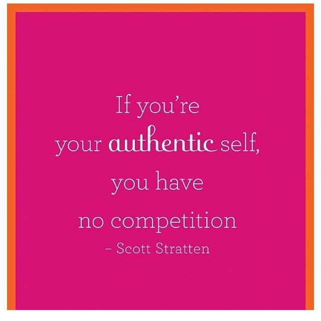 Blog-be authentic