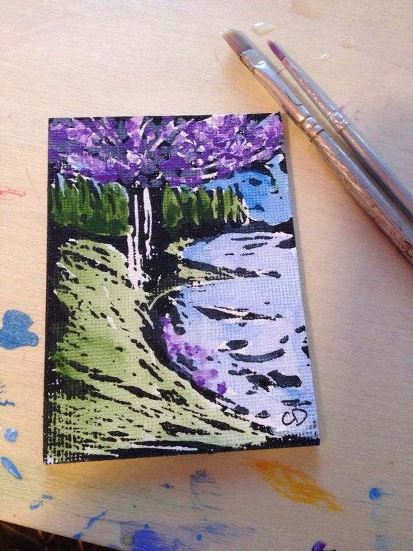 Florasphere Nature Artist Trading Card Collective Group