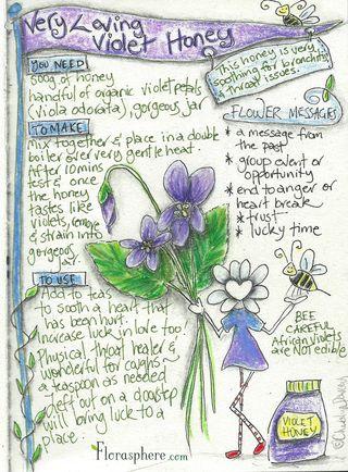 Violet honey