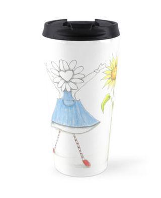 Travel mug sun