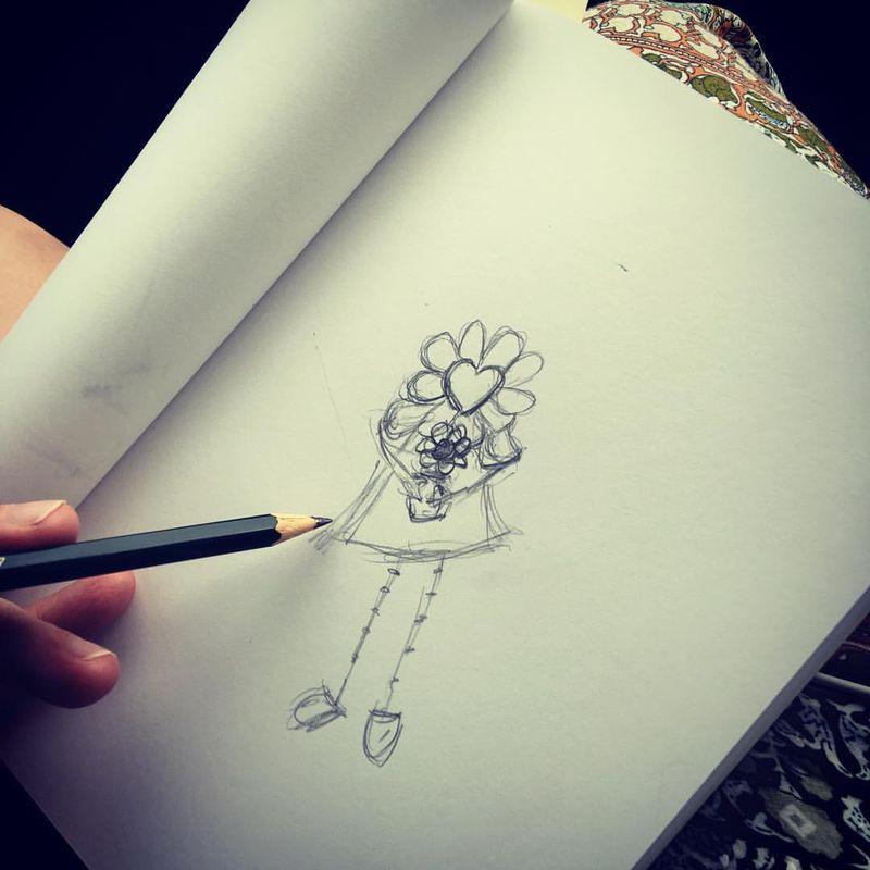 Flora drawing