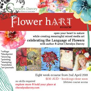 Flower hart 55
