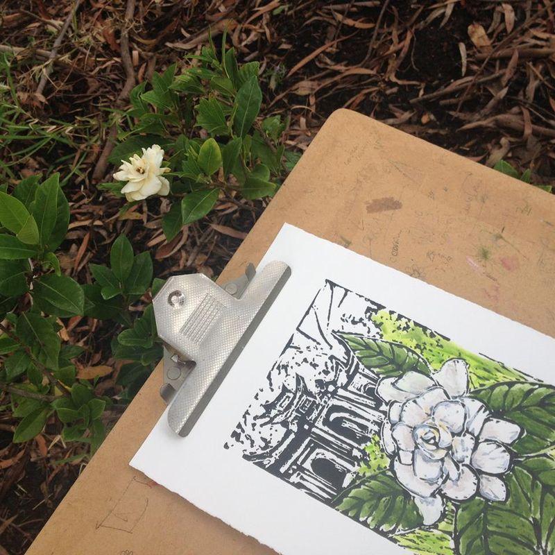 Gardenia snap