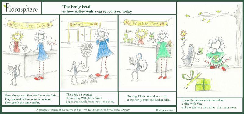 Comic Perky Petal