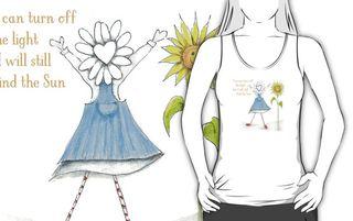 Flora sun tshirt aff