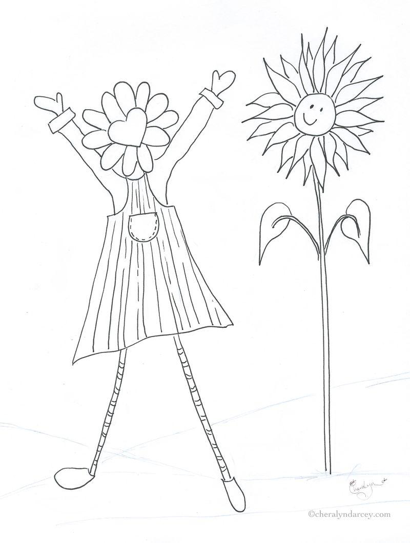 Flora Flower C1 by Cheralyn Darcey