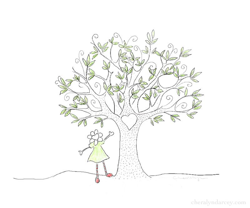 Web flora tree